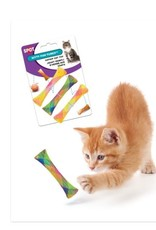 Spot Kitty Fun Tubes Catnip Toy Assorted 3-Pack