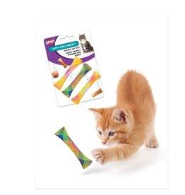 Spot Kitty Fun Tubes Catnip Toy Assorted 3 pk