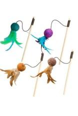 Ethical Wuggle Wool Ball Teaser Wand