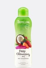 Tropiclean Berry & Coconut Deep Cleaning Pet Shampoo, 20 oz.