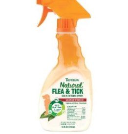 Tropiclean Natural Flea & Tick Spray For Pets, 8 oz.