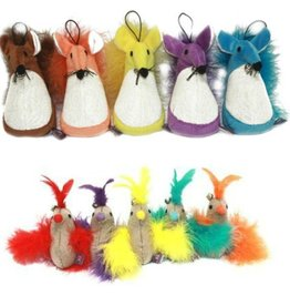 Multipet Fatty Mouse or Bird Cat Toy Assorted
