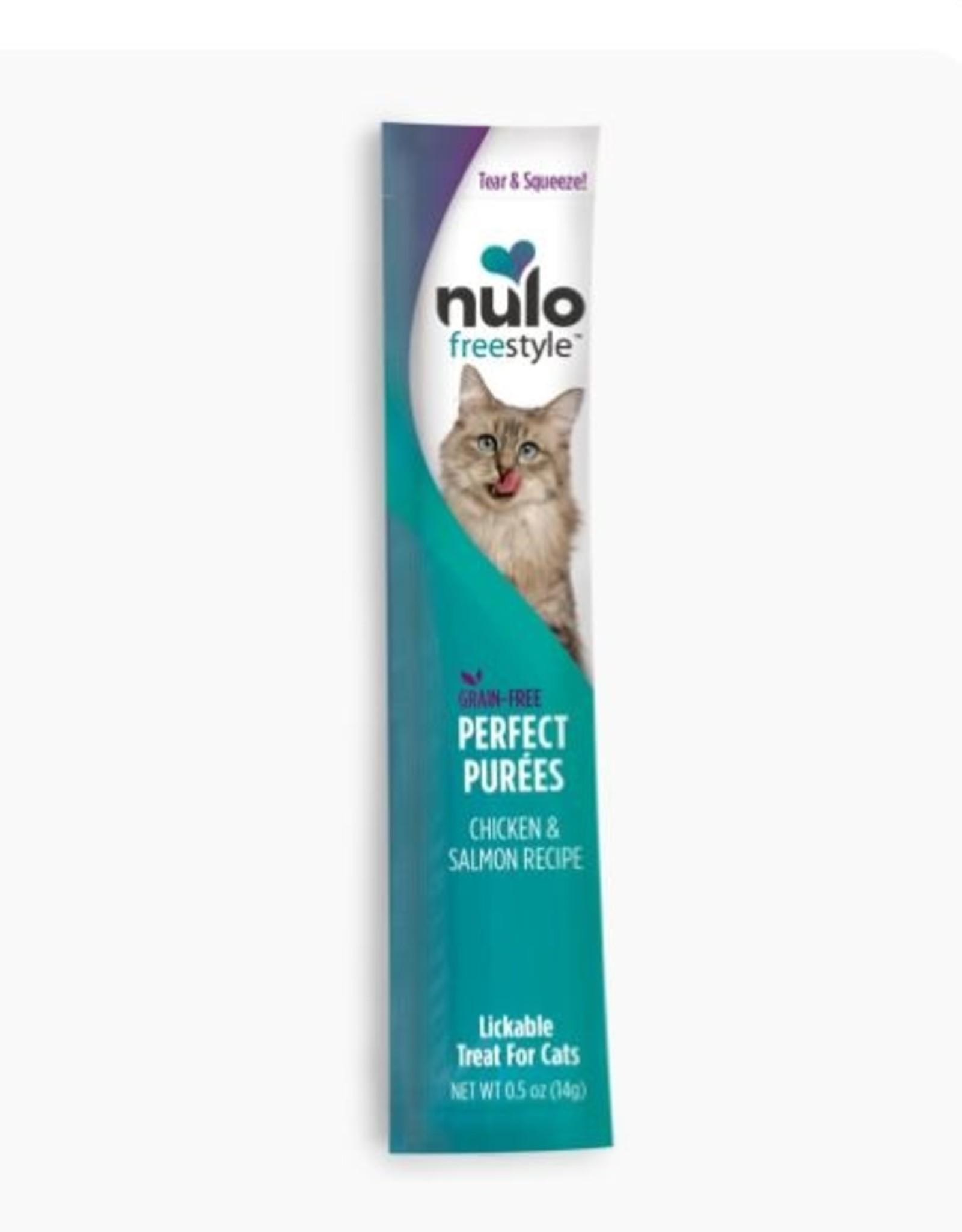 Nulo Grain-Free Perfect Purees Chicken & Salmon .5 oz