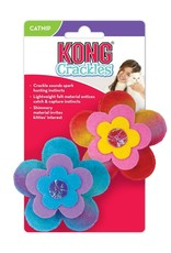 Kong Crackles Bloomz Catnip Cat Toy, 2-Pack