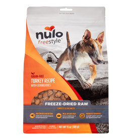 Nulo Freeze Dried Raw Grain Free Turkey Dog Food 13 oz