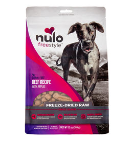 Nulo Freeze Dried Raw Grain Free Beef Dog Food 13 oz