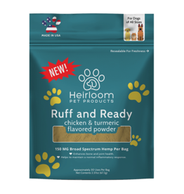 Heirloom Pet Products Chicken/Tumeric CBD 150mg Topper