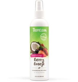 TropiClean Berry Breeze Deodorizing Spray for Dogs 8 fl oz