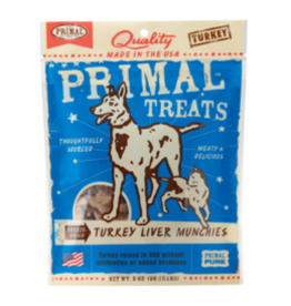 Primal Pet Foods Turkey Liver Munchies