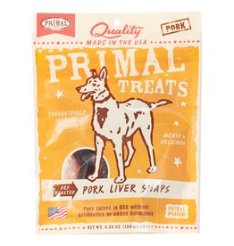 Primal Pet Foods Pork Liver Snaps