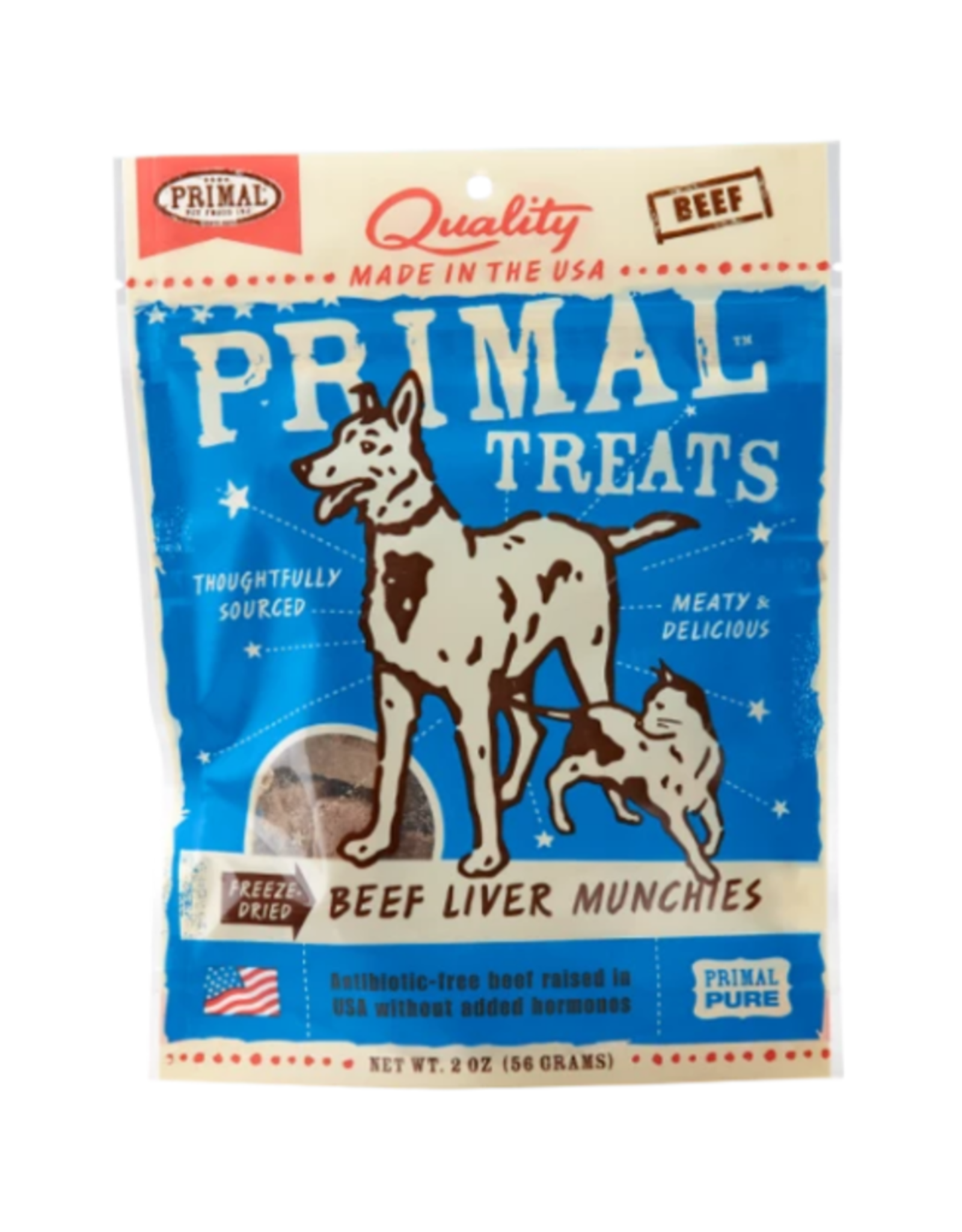 Primal Pet Foods Pork Liver Munchies