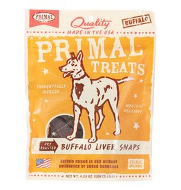 Primal Pet Foods Buffalo Liver Snaps