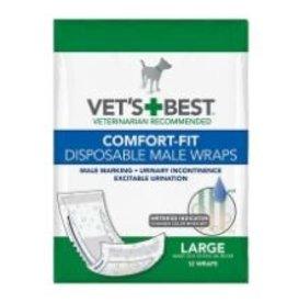 Vet's Best Disposable Male Wrap