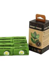 The Original Poop Bags Countdown Rolls Biobased Orange Scented 8 roll pack
