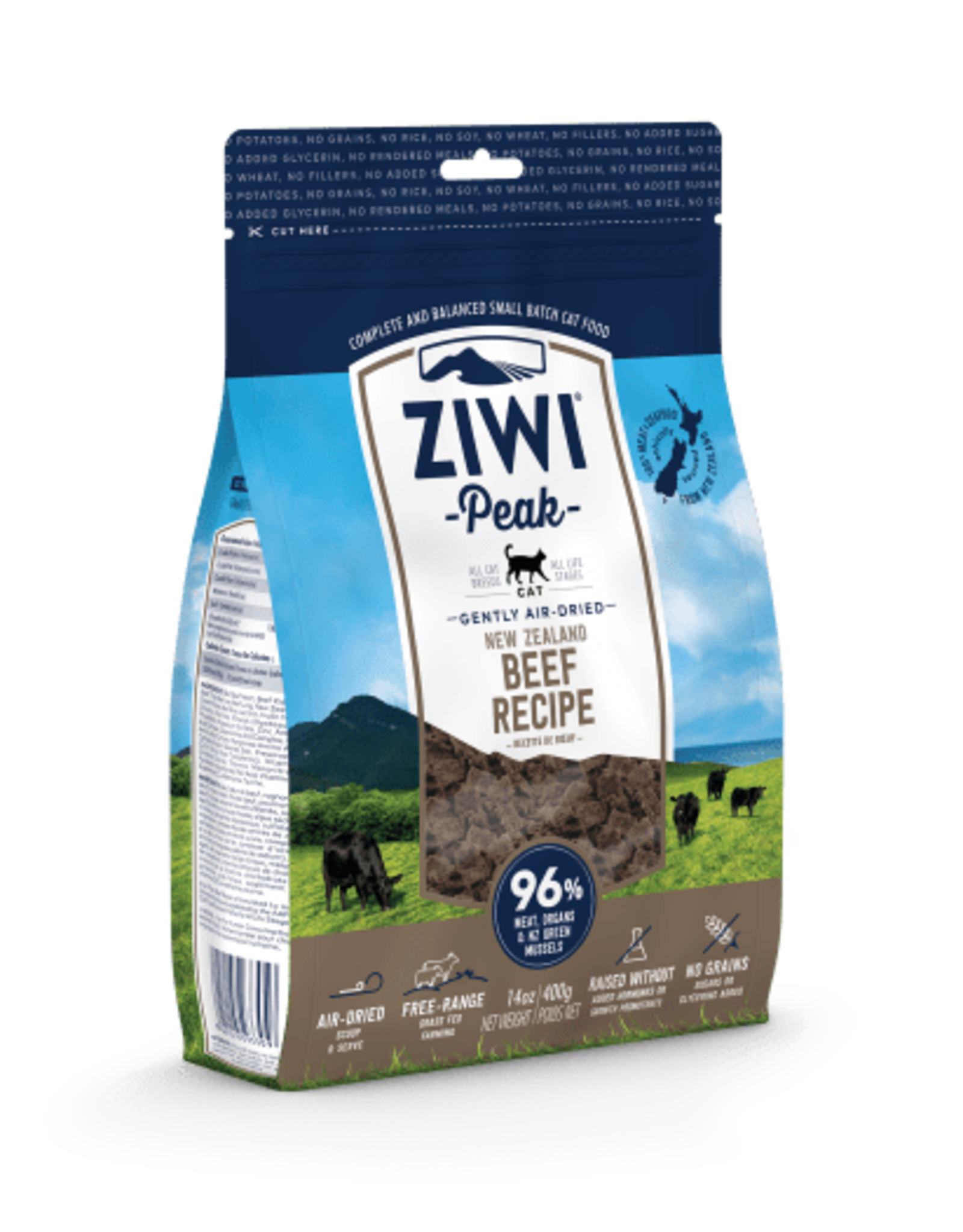 Ziwi Ziwi Peak - Cat Food - Beef Flavored - 14oz