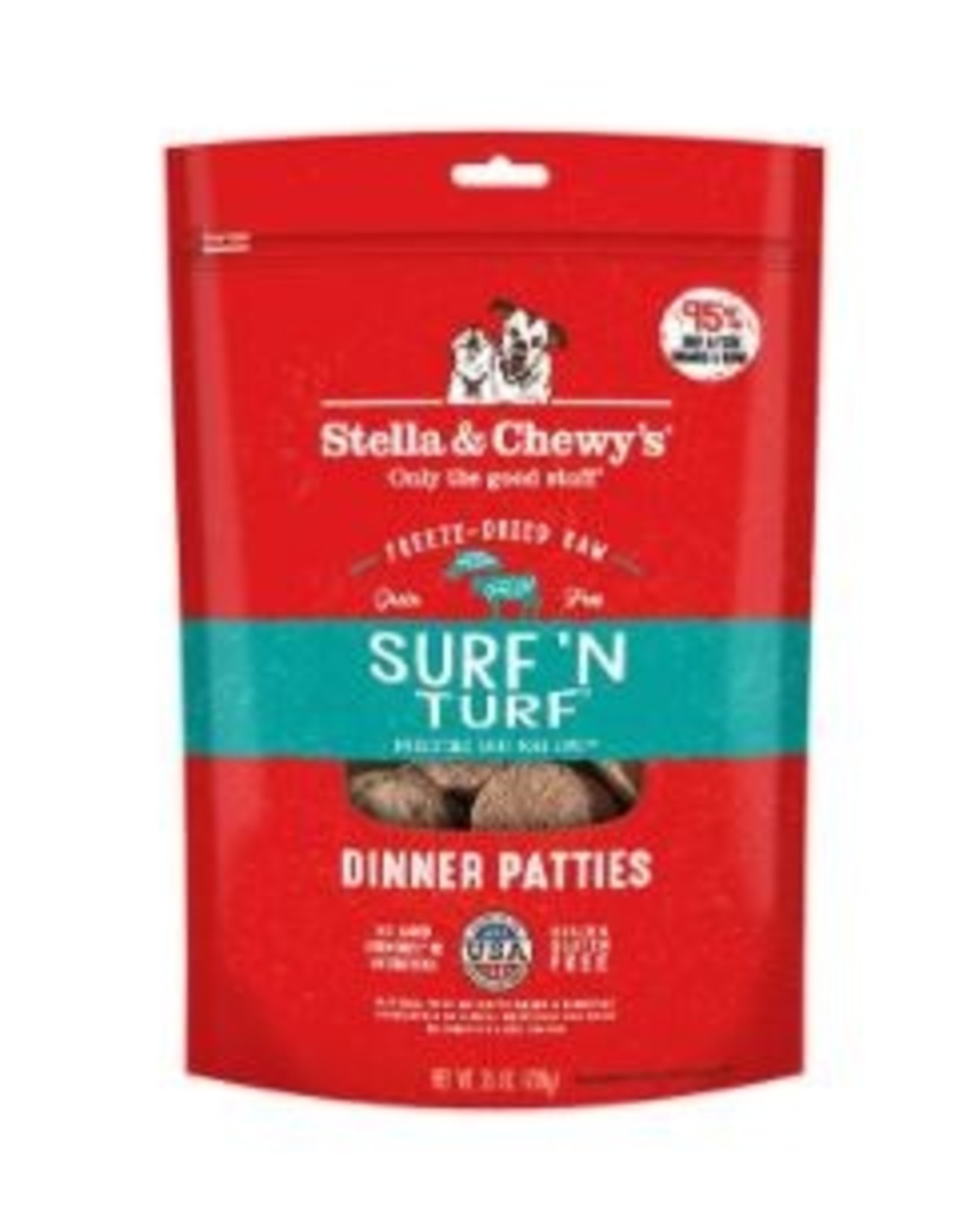 Stella & Chewy's Dog Food - Surf & Turf Patties