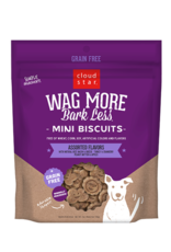 Cloud Star Wag More Bark Less Mini Biscuits Assorted - 7oz