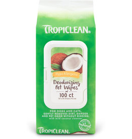 TropiClean Hypo Wipes 100ct
