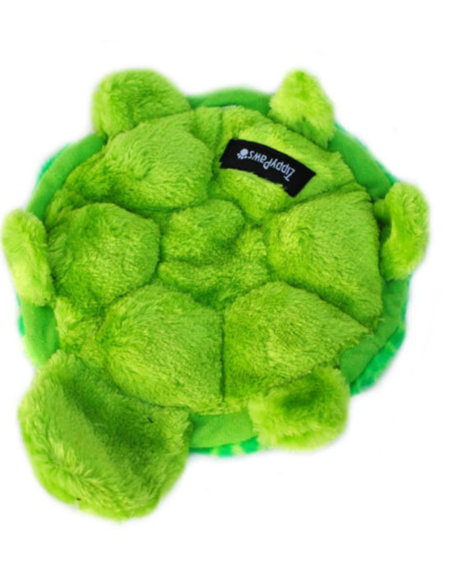 ZippyPaws Squeakie Crawler - SlowPoke the Turtle