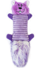 ZippyPaws Zingy Purple Squirrel