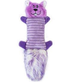 ZippyPaws Zingy Purple Squirrel