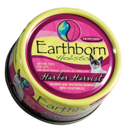 Earthborn Cat Can Harbor Harvest Salmon 3oz