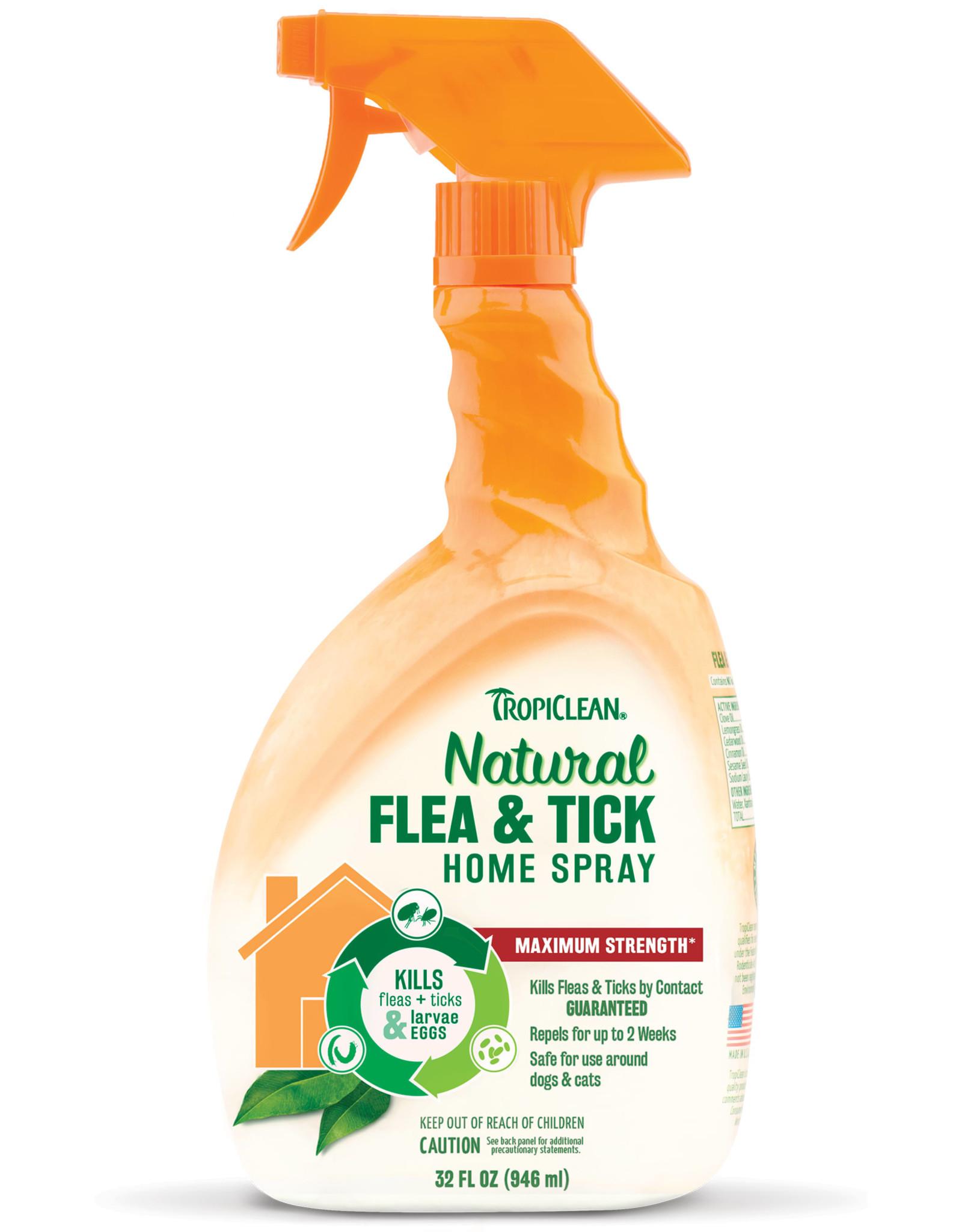 TropiClean Natural Flea & Tick Home Spray 32 fl oz