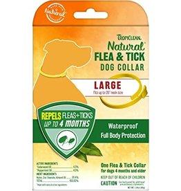 TropiClean Natural Flea & Tick Repellent Dog Collar Large