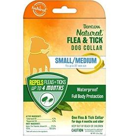 TropiClean Natural Flea & Tick Repellent Dog Collar Small Med