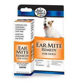 Four Paws Four Paws Aloe Ear Mite Treatment for Dogs 1ea/3/4 oz