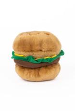 ZippyPaws NomNomz Hamburger