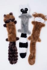 ZippyPaws Skinny Peltz 3-Pack Large (Chipmunk, Lemur, Monkey)