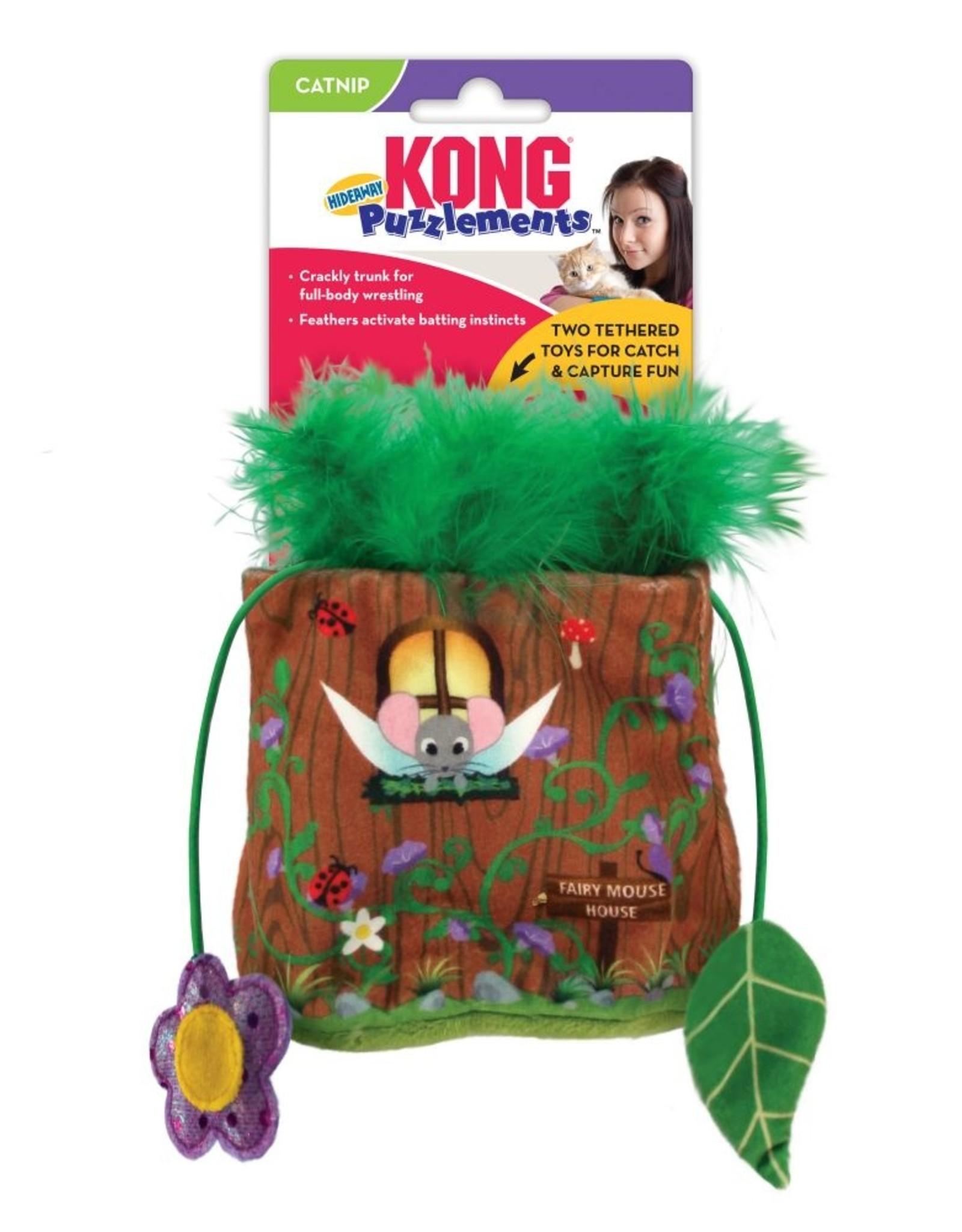 Kong Puzzlements Hideaway Cat Toy