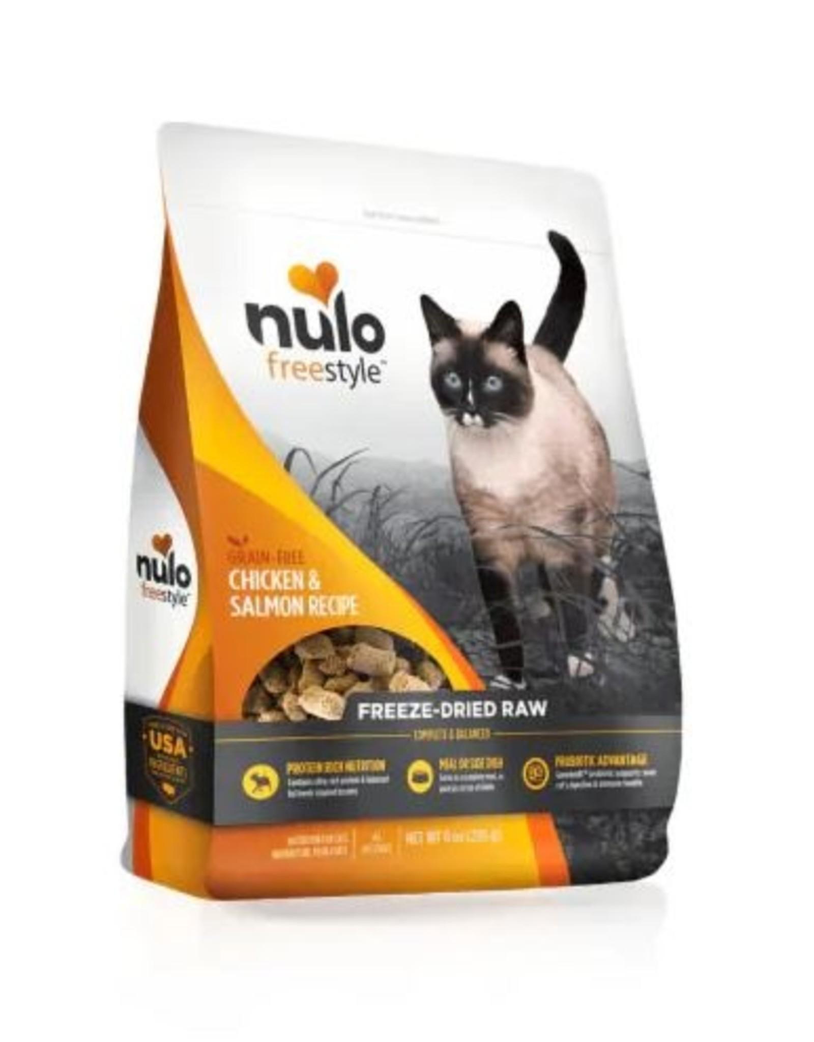Nulo Freeze Dried Raw Grain Free Chicken & Salmon CAT Food 3.5 oz