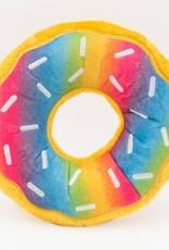 ZippyPaws Jumbo Donutz - Rainbow