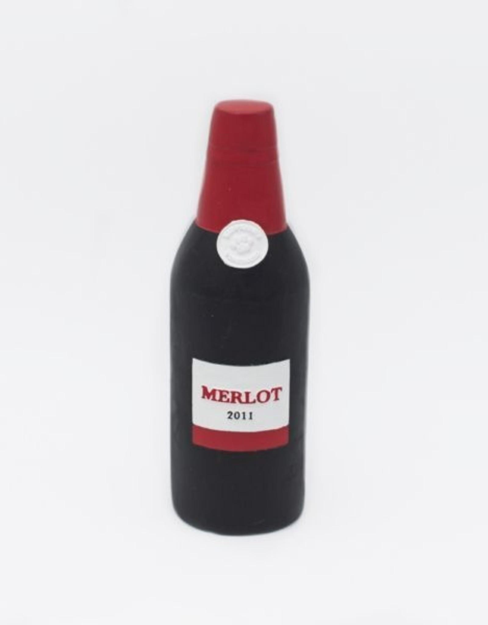 ZippyPaws Latex Happy Hour Crusherz - Red Wine