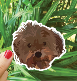 Bee Beachey Designs Cute Dog