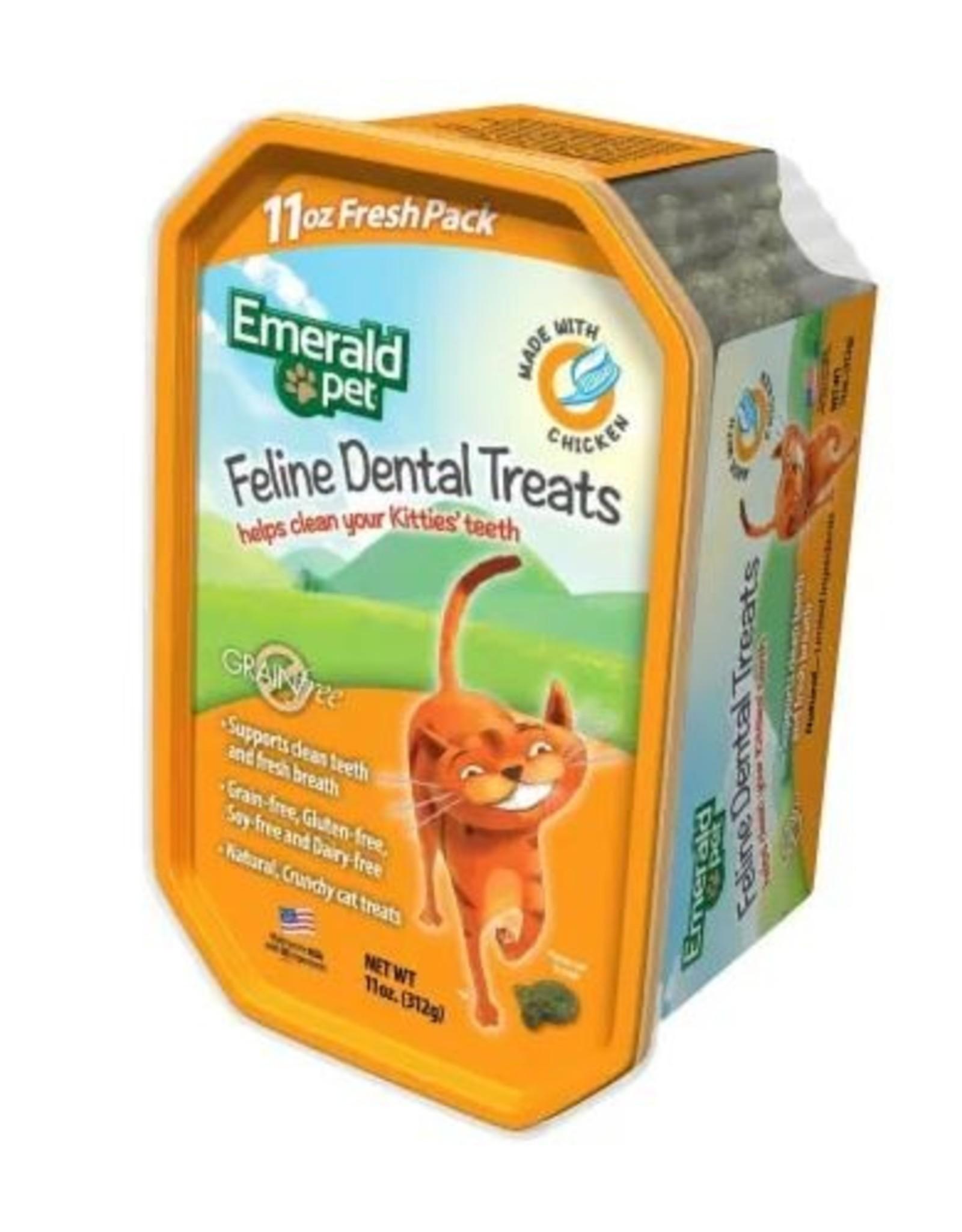 Emerald Pet Cat Dental Treat TUB Chicken 11oz
