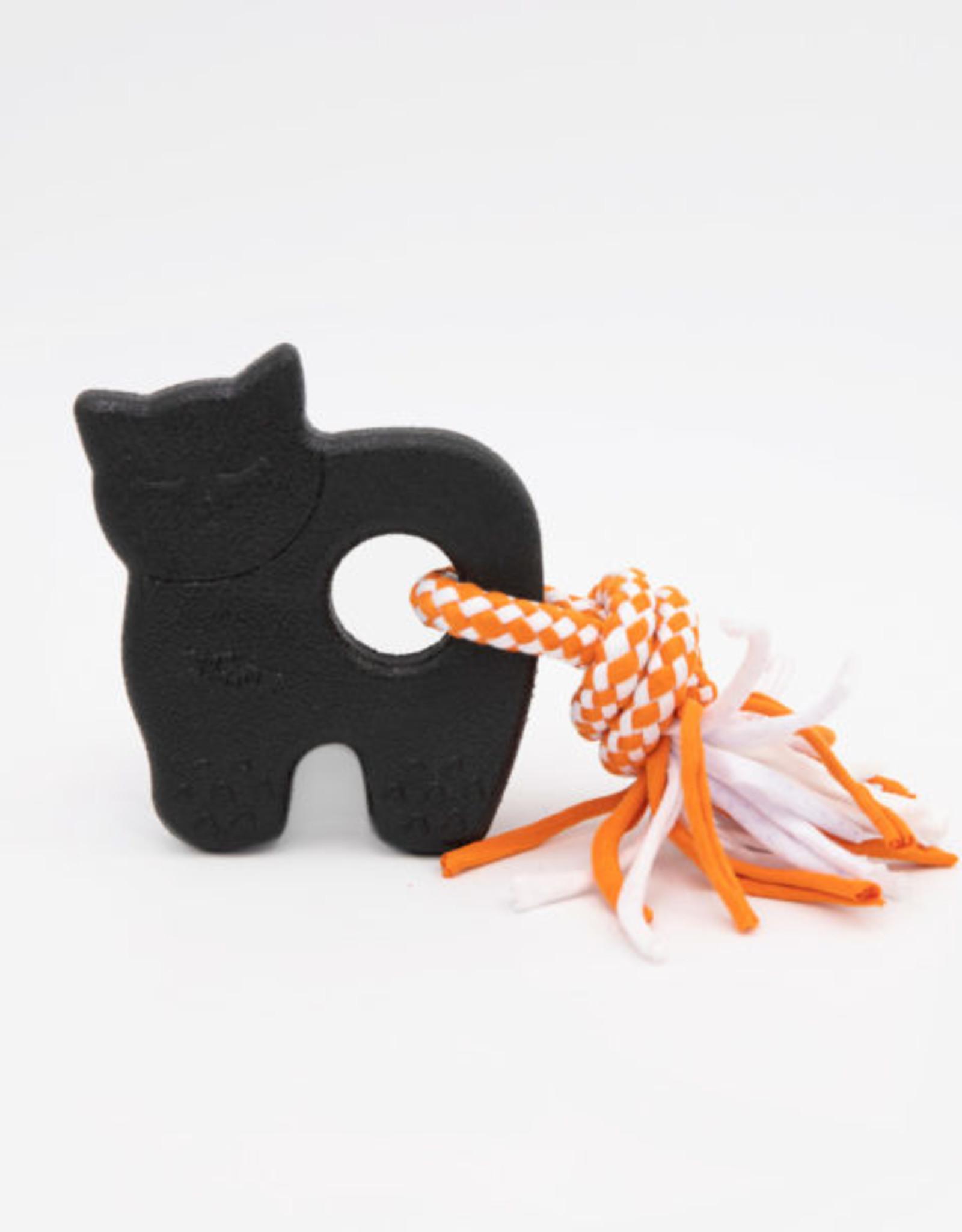 ZippyPaws Halloween ZippyTuff Teetherz - Black Cat