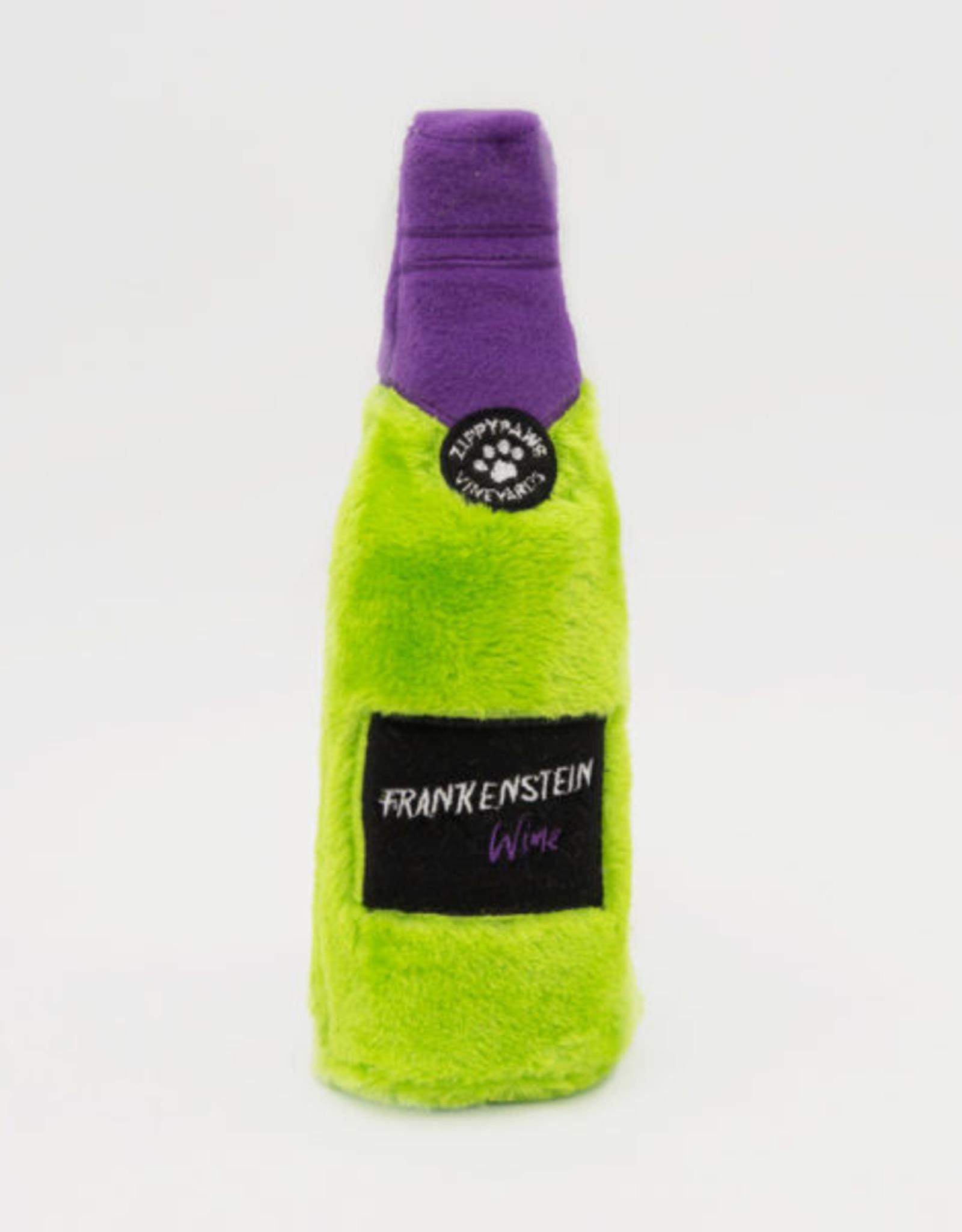 ZippyPaws Halloween Happy Hour Crusherz - Frankenstein Wine
