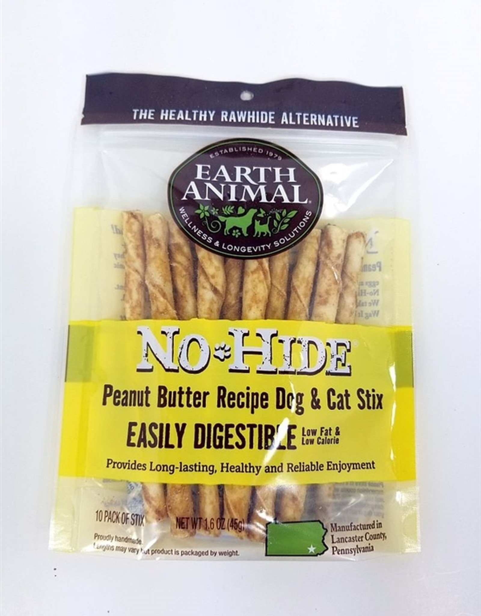 No Hide Peanut Butter Stix 10 pack