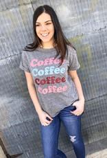 Coffee Coffee Coffee Graphic Tee