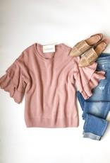 Gloria Bell Sleeve Sweater