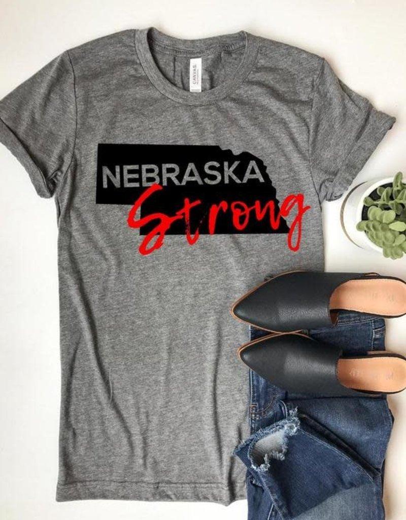 Nebraska Strong Graphic Tee