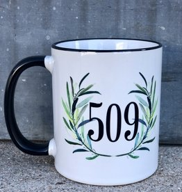 509 Mug {Eucalyptus Wreath}