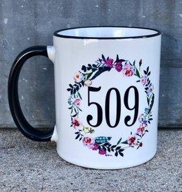 509 Mug {Boho Wreath}