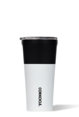 Corkcicle 16oz Color Block Tumbler {Modern Black}