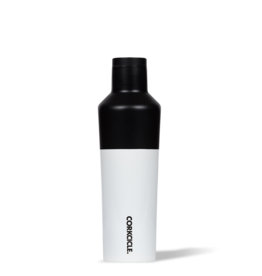 Corkcicle 16oz Color Block Canteen {Modern Black}