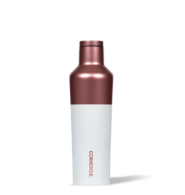 Corkcicle 16oz Color Block Canteen {Modern Rose}
