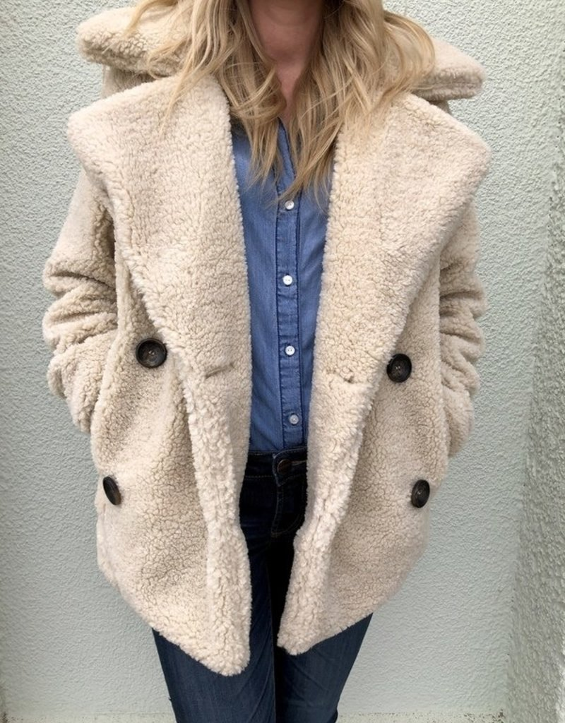 Over Sized Sherpa Coat